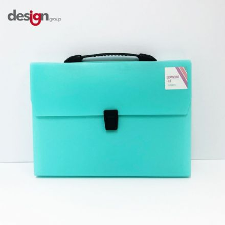 IG Design Group Expanding File Pastel Green - 13 Pocket